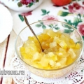 Ананасове варення з кабачка: рецепт з фото