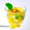 Апельсиновий напій з м'ятою, рецепт