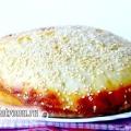 Білий домашній хліб з яйцем і кунжутом, рецепт з фото