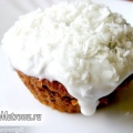 Бісквітне тістечко зі сметанним кремом, рецепт
