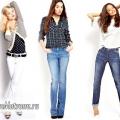 Що носити з прямими, вузькими і дизайнерськими джинсами? огляд з фото