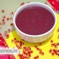 Гранатовий соус до м'яса: рецепт з фото