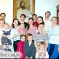 Як наша велика сім'я відзначає різдво