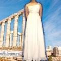 Як оформити біле плаття в грецькому стилі