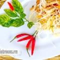 Китайський салат з фунчозой: рецепт з фото