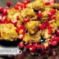 Курка з волоськими горіхами в гранатовому соусі: рецепт з фото