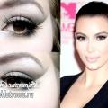 Макіяж Ким Кардашьян (kim kardashian): урок з покроковими фото