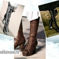 Модні чоботи осінь-зима 2014-2015 - 7 яскравих деталей