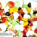 Кілька рецептів грецького салату