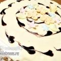 Ніжний торт зі сметанним кремом, рецепт з фото