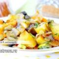 Овочеве рагу з баклажанами і кабачками: рецепт з фото