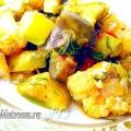 Овочеве рагу з цвітною капустою, фото-рецепт