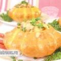 Патисони, фаршировані овочами та рисом. рецепт з фото