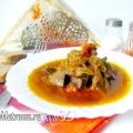 Печінка тушкована з овочами і спеціями: рецепт з фото