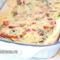 Піца з кабачками: рецепт з фото