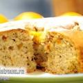 Пиріг з курагою і горіхами: пісний рецепт