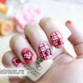 Рожевий манікюр «сердечка» до свята святого валентина: урок з фото