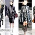 З чим носити шкіряне плаття? модні ідеї з фото
