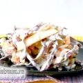 Салат з червонокачанної капусти з морквою і яблуками: рецепт з фото