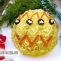 Салат «новорічна іграшка»: рецепт з фото