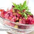 Салат «вітамінний вінегрет»: класичний рецепт з фото