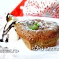 Шоколадний фондан: рецепт з фото