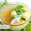 Суп з рисом і стручкової квасолею: рецепт з фото