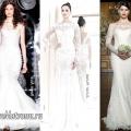 Весільні сукні 2014: тенденції з фото