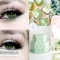 Весільний макіяж для зелених очей: урок з покроковими фото