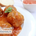 Тефтелі з рисом в томатному соусі по-грецьки (юверлакі): рецепт з фото