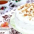 Торт «медовик» зі сметанним кремом: рецепт з фото