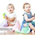 Як правильно привчити дитину до горщика?