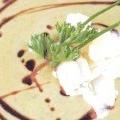 Крем-суп зі шпинату з пармезаном