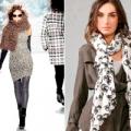 Модні аксесуари: хустки і шарфи 2013