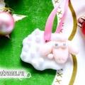Овечка з полімерної глини: дитяча новорічна саморобка своїми руками