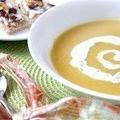 Суп з білими грибами та сиром