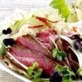 Салат з яловичини теріякі