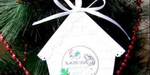 Листівка «новорічний будиночок» своїми руками, майстер-клас з фото