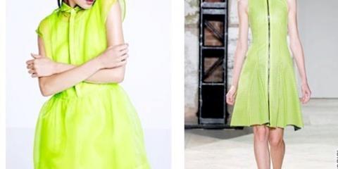 З чим носити зелену сукню, пальто, брюки або топ: огляд з фото